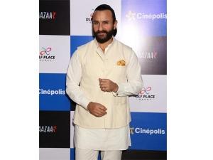 Saif Ali Khan Traditional Look Bazaar Promotions