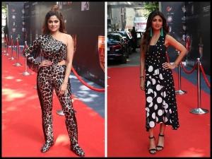 Shilpa Shetty Shamita Shetty Fashion Poker Raj Challenge Launch Event