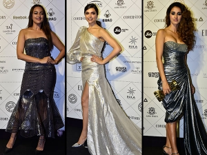 Deepika Padukone Disha Patani The Best Dressed At Elle Beauty Awards