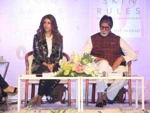 Amitabh Bachchan Shweta Bachchan Fashion At Book Launch