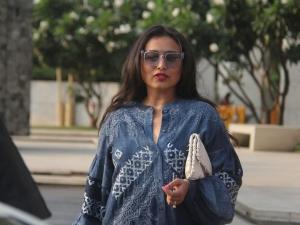 Rani Mukerji Breezy Outfit Street Style Photoshoot