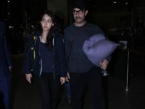 Aamir Khan Daughter Casual Airport Looks