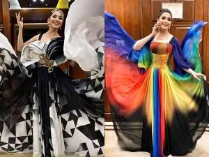 Madhuri Dixit Nene Surreal Costumes The Heart Beats Hockey Ceremony