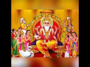 Vishwakarma Hindu God Puja