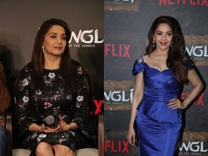 Madhuri Dixit Dresses Mowgli Netflix Event
