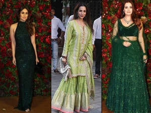 Best Green Coloured Outfits Worn Bollywood Actresses
