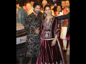 Shahid Mira S Elaborate Outfits At Isha Ambani S Wedding