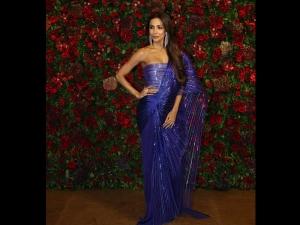 Malaika Arora Khan S Royal Blue Attire Deepika Ranveer S Reception