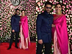 Deepika Ranveer Classy Outfits At Kapil Sharma S Reception