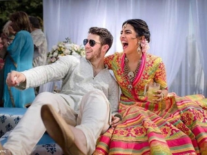 Priyanka Nick Bright Outfits Their Mehendi Ceremony At Umaid Bhawan