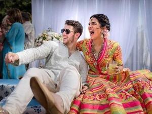 Priyanka Nick Bright Outfits Their Mehendi Ceremony At Umaid Bhawan