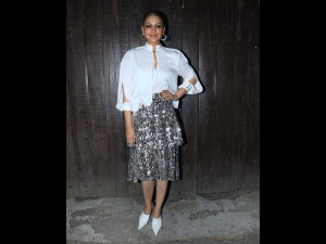 Sonali Bendre S Party Look New Year Party