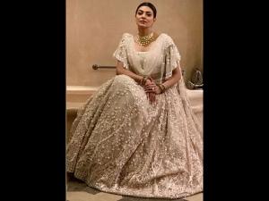 Sushmita Sen Wears Lehenga Ss Rajamouli S Son S Wedding