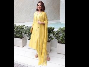 Yami Gautam Wears Yellow Suit The Success Party Uri