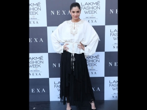 Ankita Lokhande Spotted A Boho Attire At Lakme Fashion Week