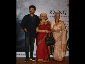 Waheeda Rehman Asha Parekh Saris At The Raag Shayari Event
