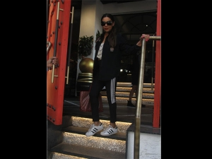 Gauri Khan A Sporty Outfit At Sancho S House Bandra