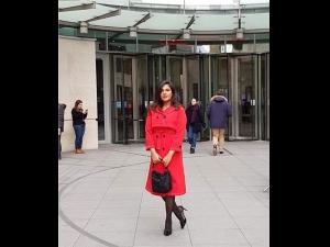 Richa Chadha A Red Dress The Bbc Interview Love Sonia