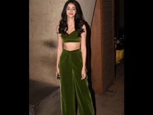 Ananya Panday S Green Separates Punit Malhotra S Party