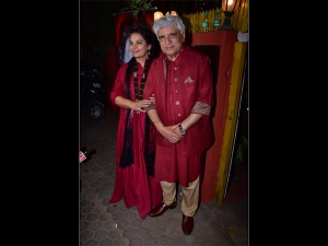 Javed Akhtar Shabana Azmi Twinned The Event Hosted Celebrate Kaifi Azmi