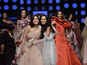 Yami Gautam A Gauri Nainika Gown At Lfw Sr