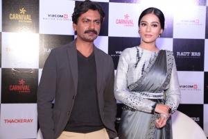Amrita Rao A Sari Thackeray Promotions