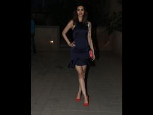 Diana Penty A Violet Number At Punit Malhotra S Valentine Bash