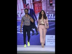 Shahid Vaani Kapoor Stylish Avatars At Marks Spencer Event