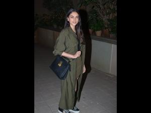 Aditi Rao Hydari A Green Dress At Punit Malhotra S Valentine Bash