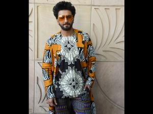 Ranveer Singh A Zebra Print Attire Gully Boy Promotions