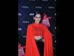 Manushi Chhillar A Dramatic Attire At The Nykaa Femina Beauty Awards