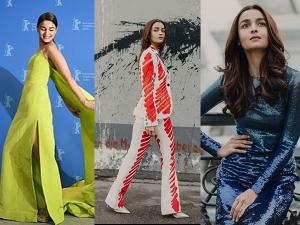 Alia Bhatt S Stunning Looks Gully Boy Promotions Berlin