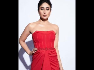 Kareena Kapoor Khan A Red Gown The Lfw Sr 19 Press Conference