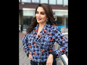 Madhuri Dixit Nene A Simple Look Total Dhamaal Promotions