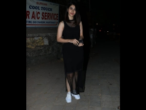 Warina Hussain Spotted A Black Lbd