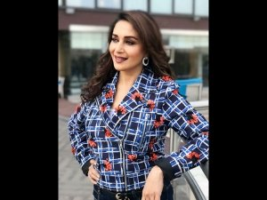 Madhuri Dixit Nene Aces The Old School Look And We Like It