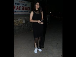 Wow! Warina Hussain's Black LBD Is All Things Cool