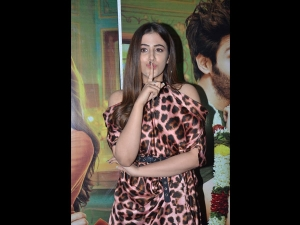 Nupur Sanon A Printed Dress The Success Party Luka Chuppi