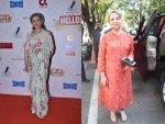 Sharmila Tagore A Suit Sari Photoshoot