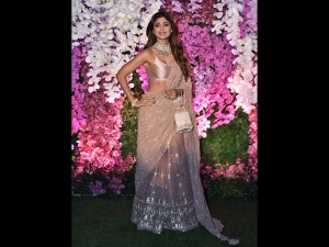 Shilpa Shetty Kundra A Pretty Lehenga At Akash Ambani S Reception