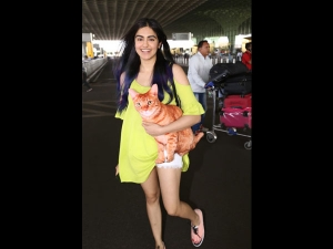 Adah Sharma Spotted At The Airport A Simple Outfit
