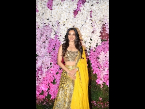 Kiara Advani A Bright Yellow Lehenga Akash Ambani S Reception