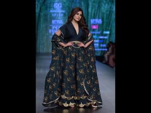 Kritika Kamra S Showstopper Modern Attire At The Fdci India Fashion Week