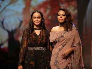 Swara Bhasker S Showstopper Brown Outfit At The India Fashion Week