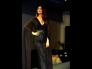 Vaani Kapoor Spotted A Black Gown At An Event