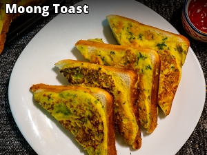 Moong Toast Recipe: How To Make Moong Toast