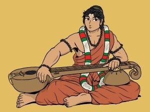The Story Of Lord Vishnu, Narad Muni And The Rich Merchant