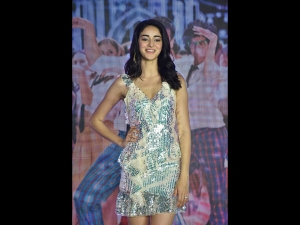 Ananya Panday In A Silver Dress For Soty 2 Promotions