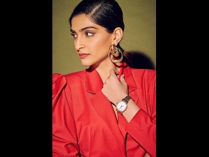 Sonam Kapoor Ahuja In A Pantsuit For The Iwc Event