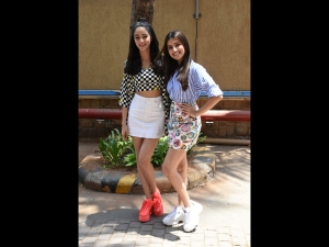 Tara Sutaria And Ananya Panday In Quirky Outfits For Soty